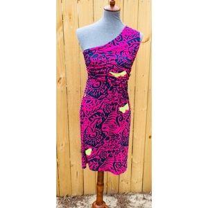 Tracy Negoshian Midi Dress